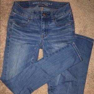 American eagle skinny jeans(super stretch)